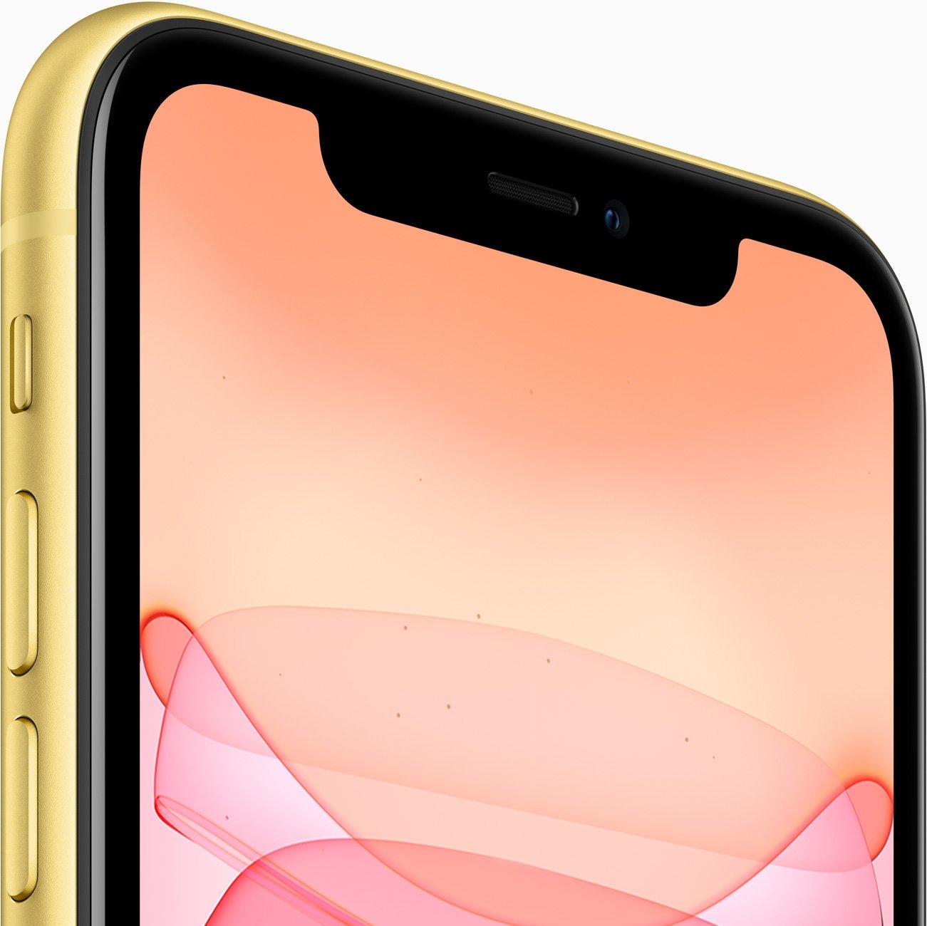 айфон 11 64 жёлтый