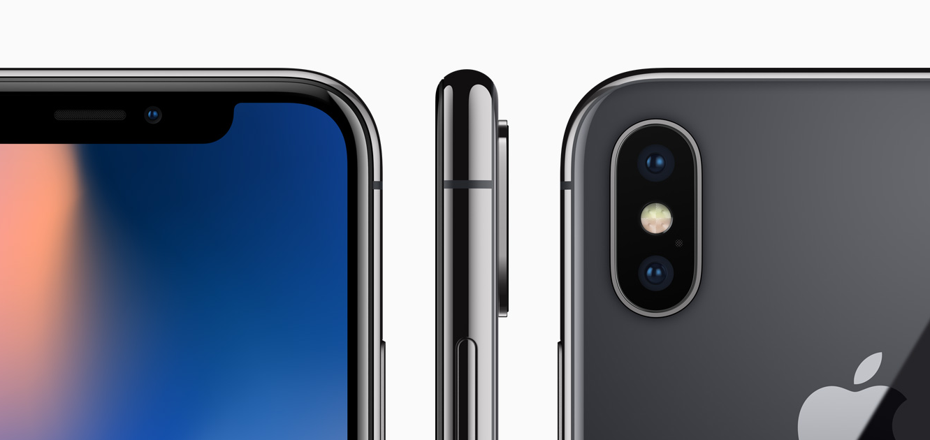 айфон 10 64 серый космос