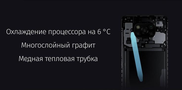 POCO X3 Pro 6/128 GB Синий в минске