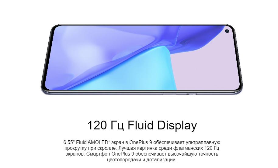 OnePlus 9 12/256 GB Арктическое небо в минске