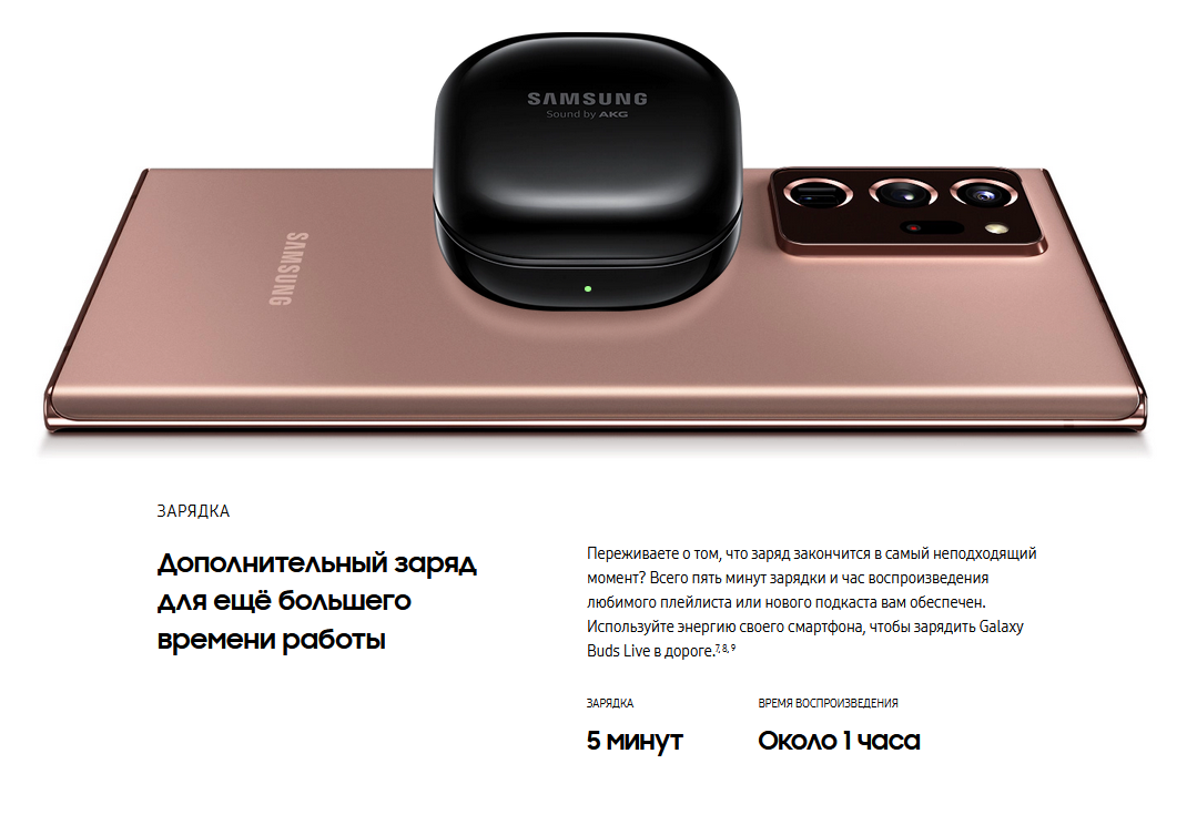 Samsung Galaxy Buds Live Красный цена