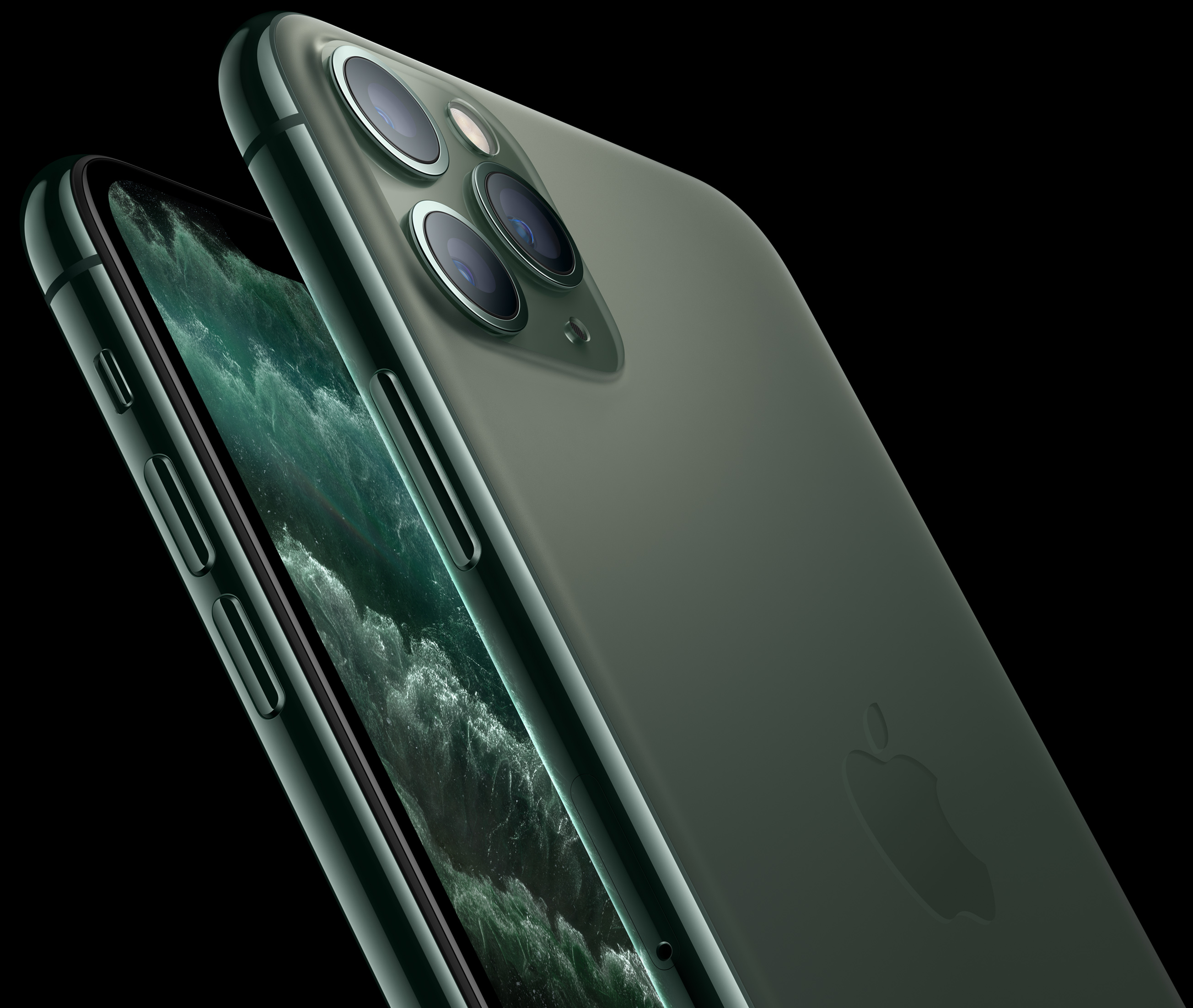 iphone 11 pro max 64 midnight green