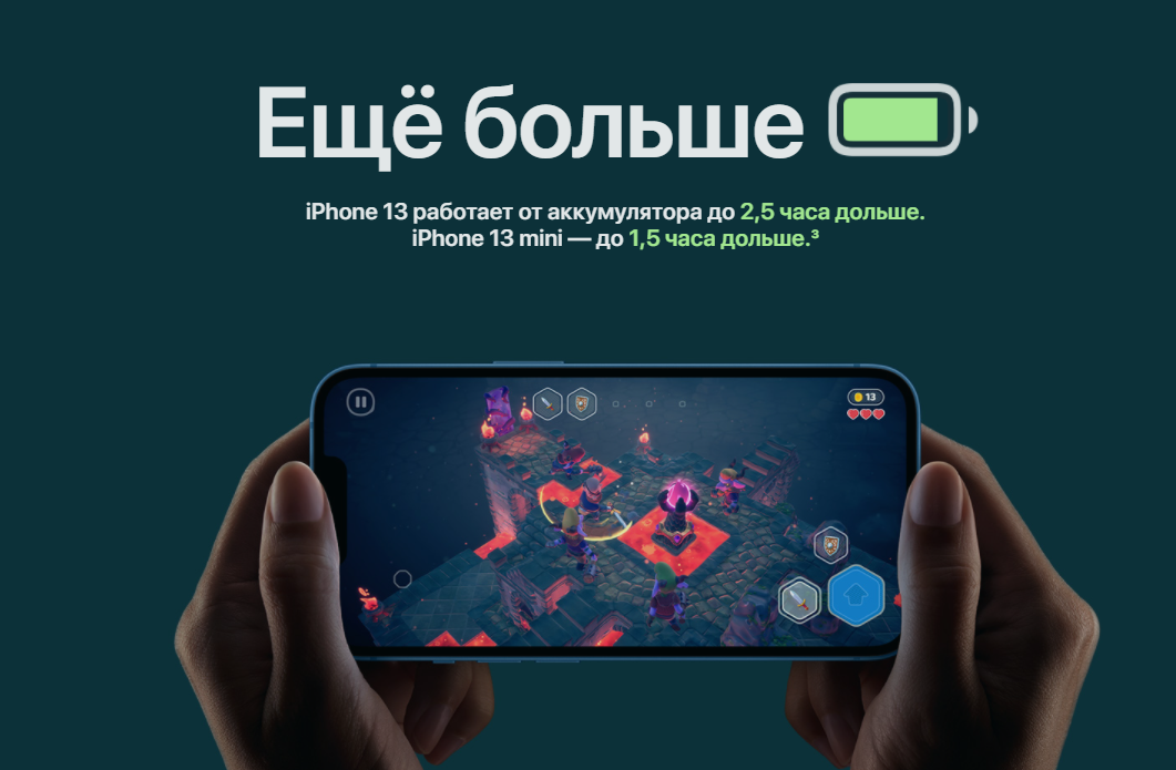 Apple iPhone 13 128 GB Midnight цена