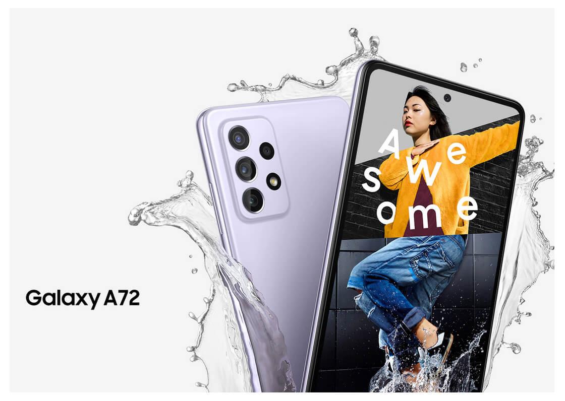 Samsung Galaxy A72 8/256 GB Голубой