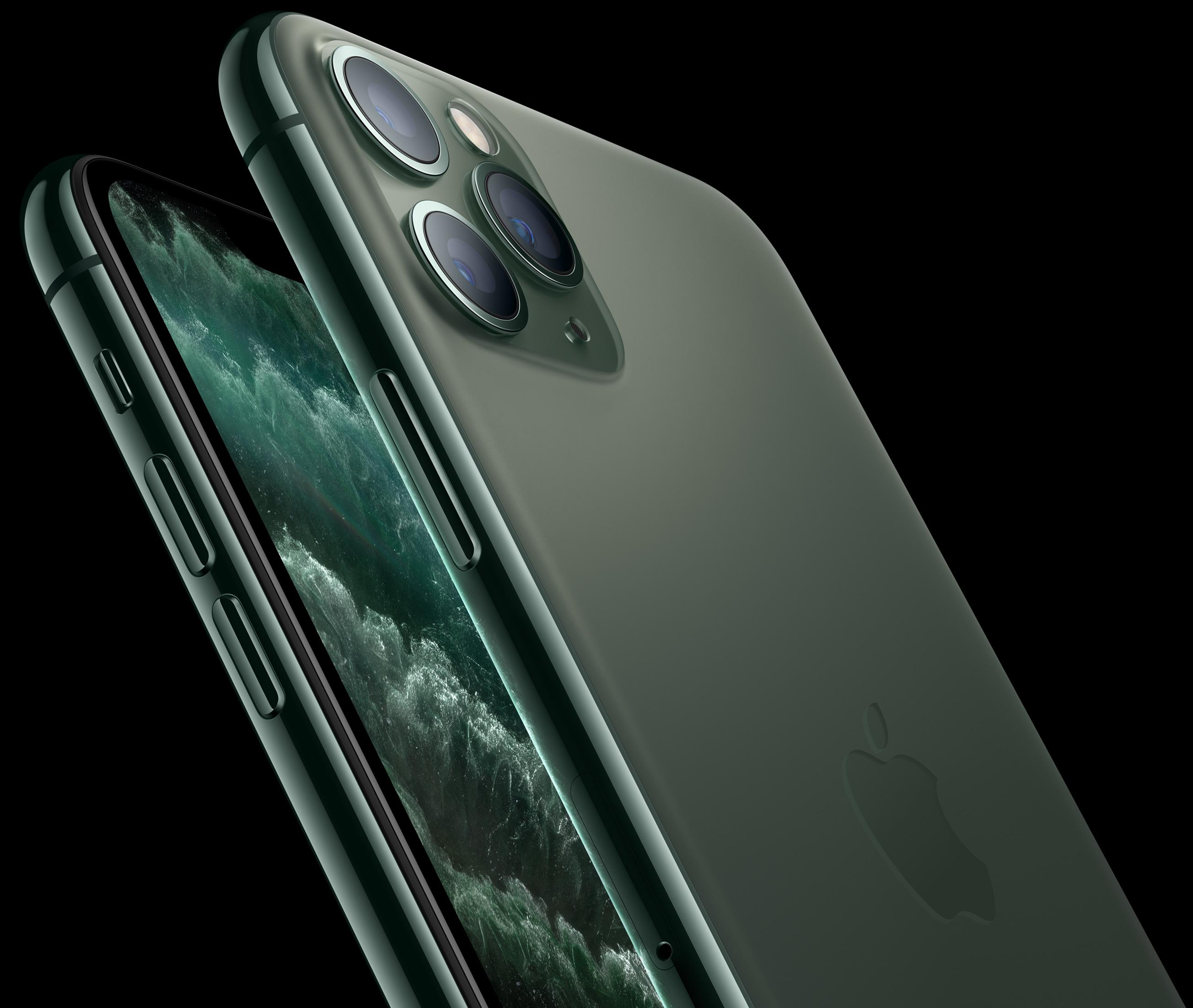 айфон 11 про макс 256 темно зеленый