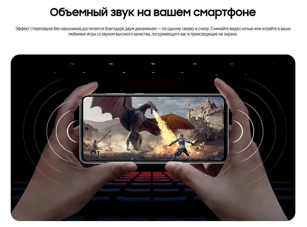 Samsung Galaxy A72 6/128 GB Голубой минск