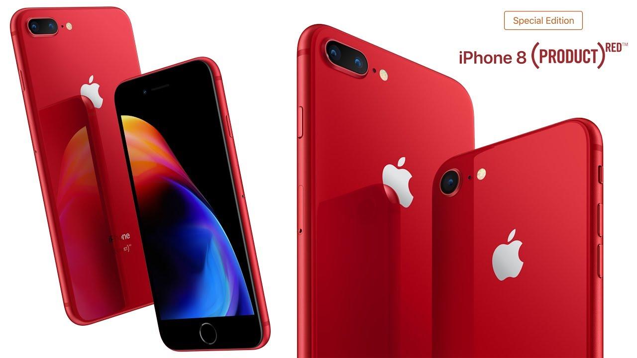 айфон 8 плюс 64 красный
