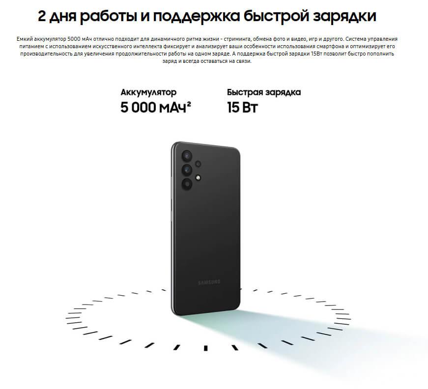 Samsung Galaxy A32 4/64 GB Чёрный минск