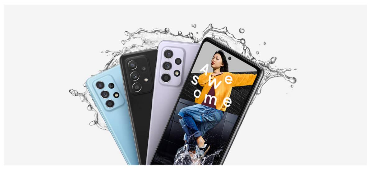Samsung Galaxy A52 8/256 GB Лаванда