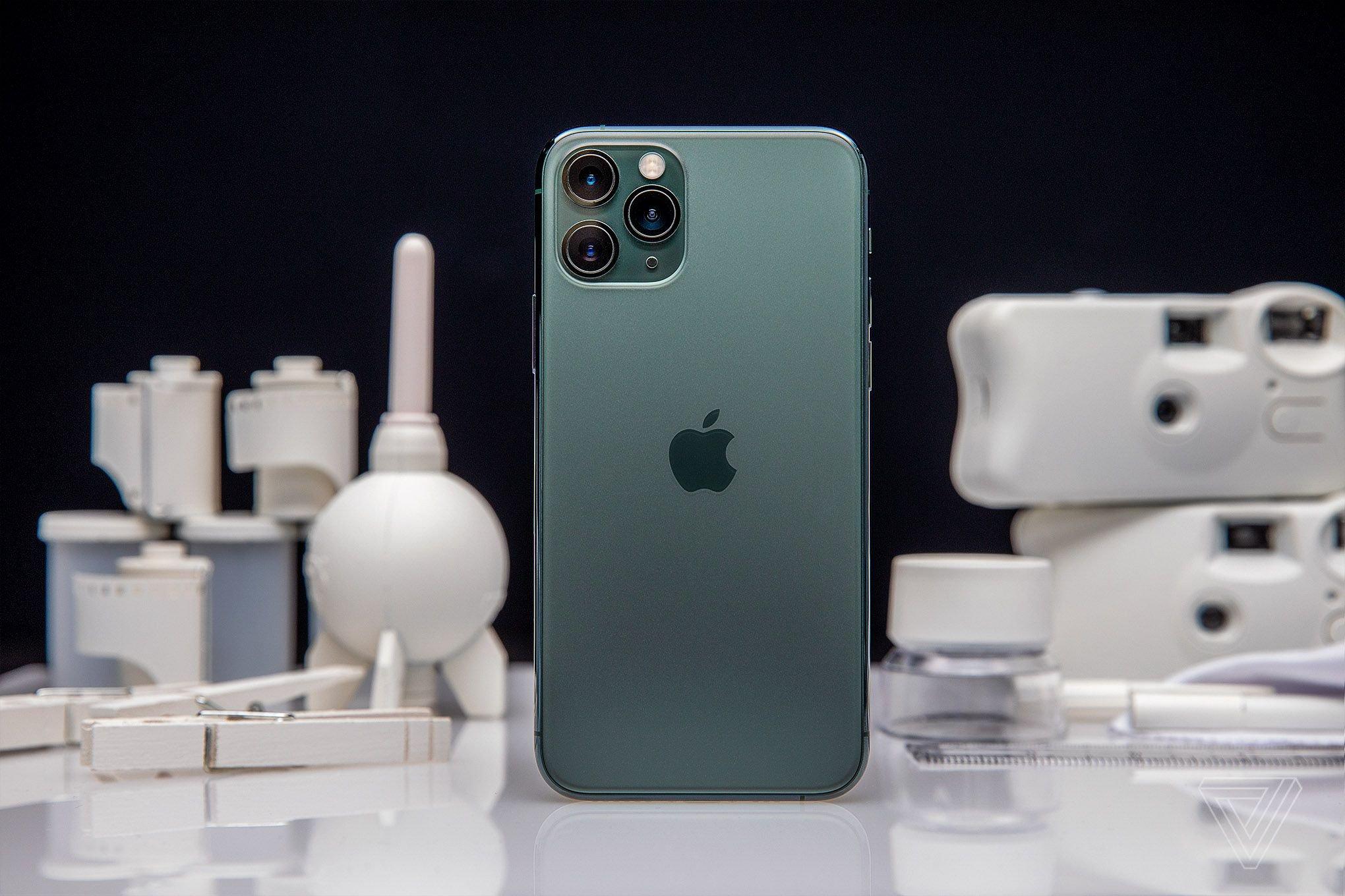 айфон 11 про 64 темно-зеленый
