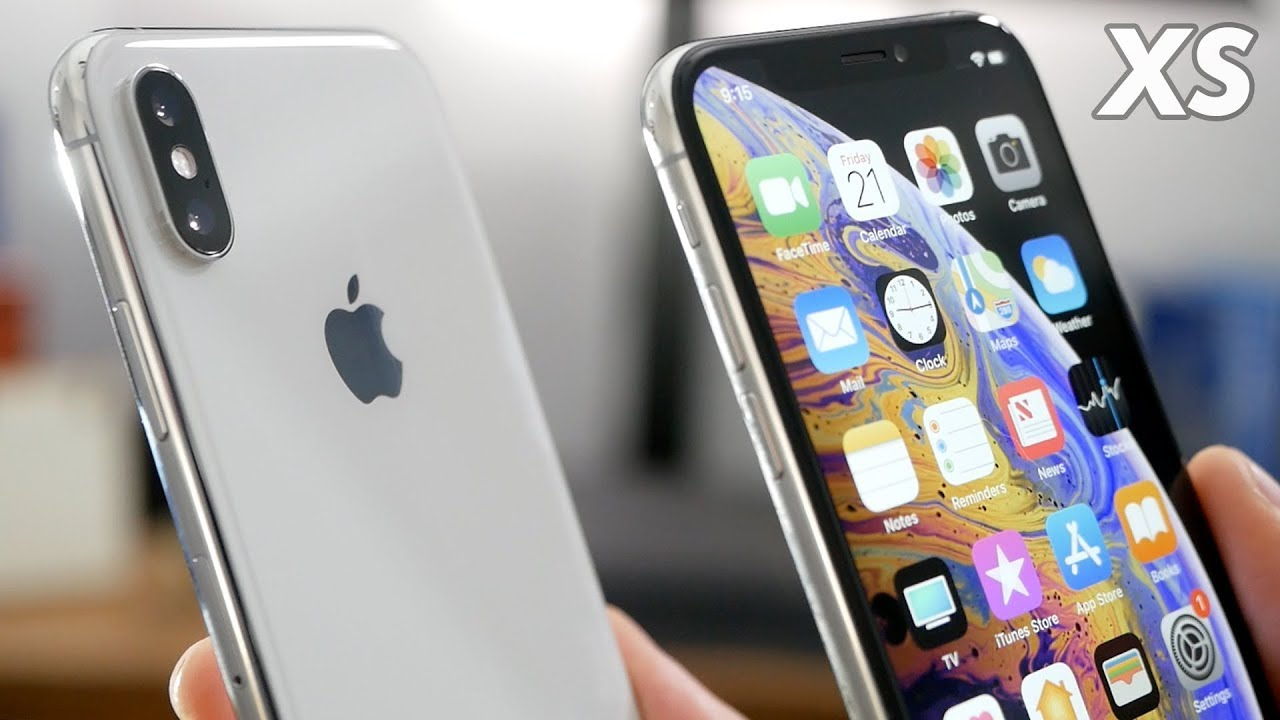 iphone xs 64 silver