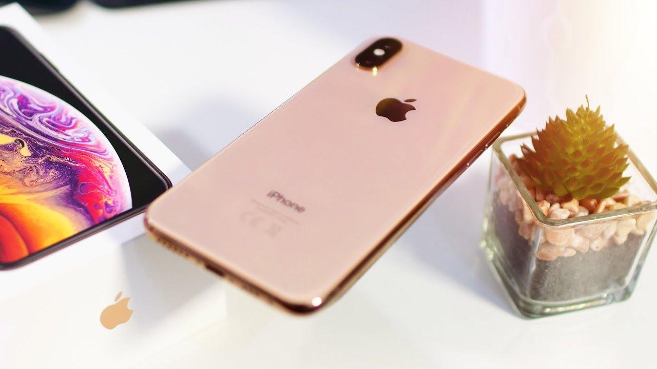 айфон xs 64 золотой