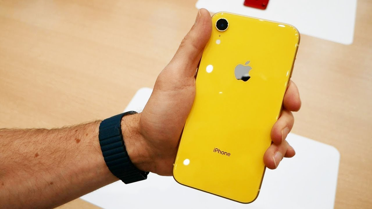 iphone xr 64 yellow